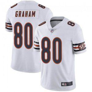 Bears Jimmy Graham White Jersey